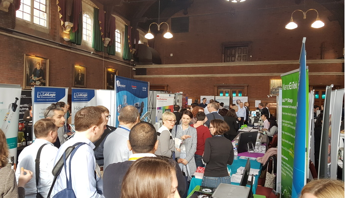 Vendors showcasing their technology at ELRIG Research and Innovation 2017