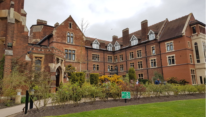 Homerton College, Cambridge, UK