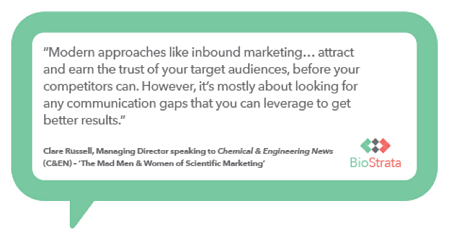 Inbound marketing in the life science industry